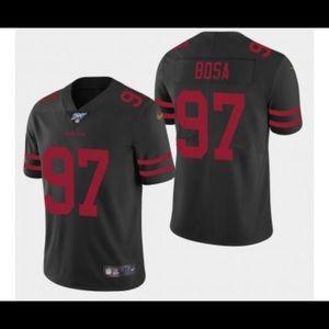 Bosa Black 49ers Jersey
